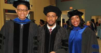 At 22, Jalaal Hayes Becomes Delaware State University's Youngest Doctoral Graduate