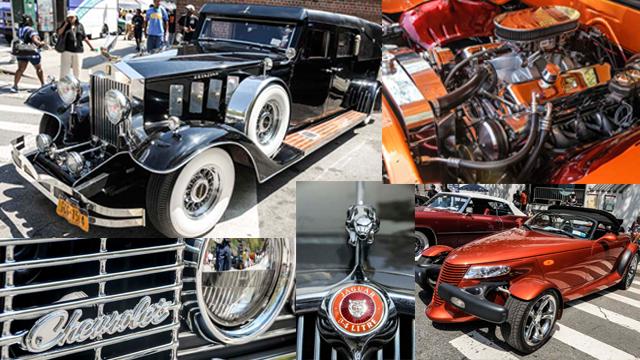 Harlem Week Car Show Photos