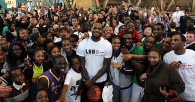 LeBron James Takes 5,000 Kids To A Theme Park In The Name Of Education