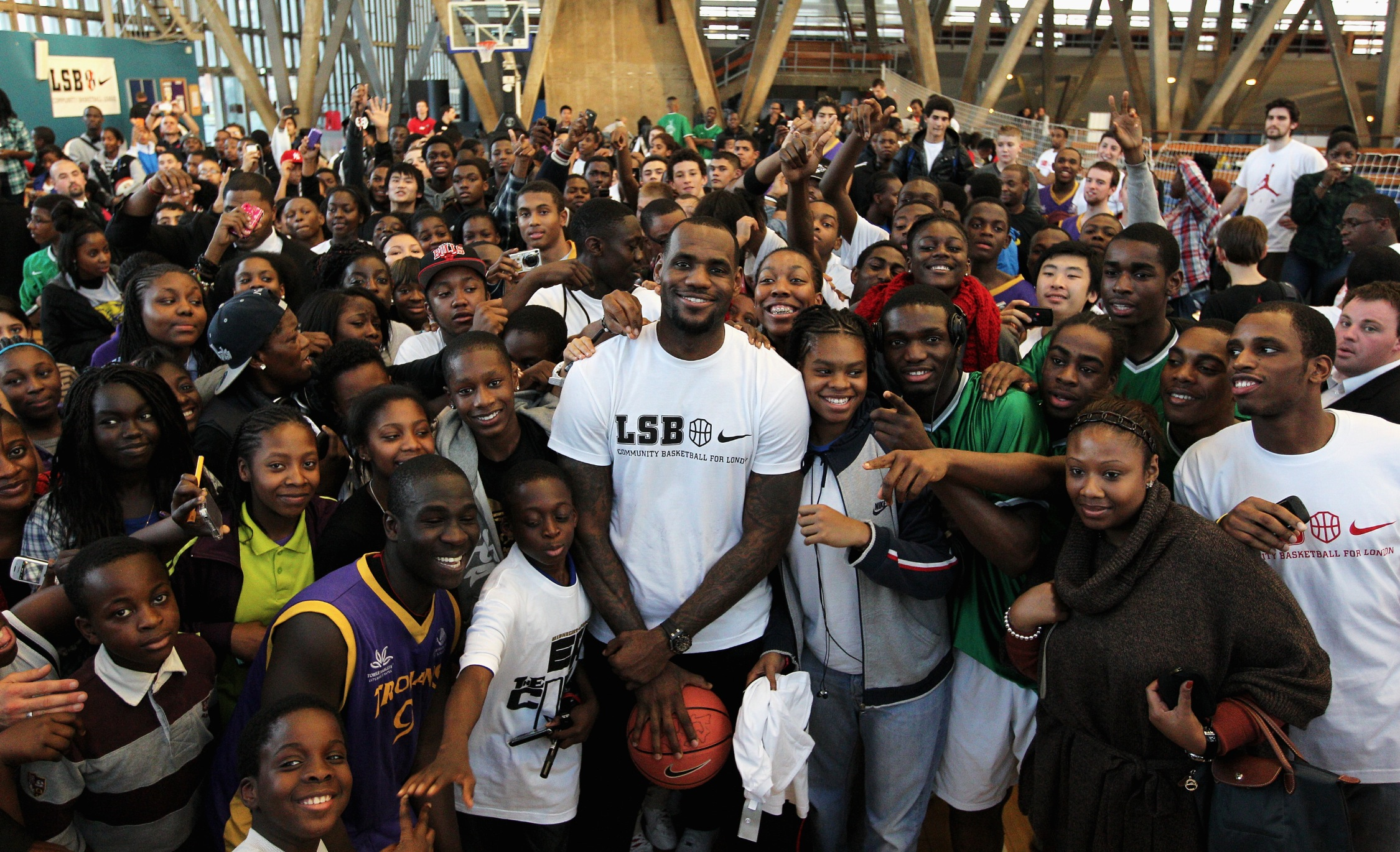 lebron james takes 5 000 kids to a theme park in the name of