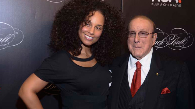 Alicia Keys' Keep a Child Alive's Black Ball honors Clive Davis