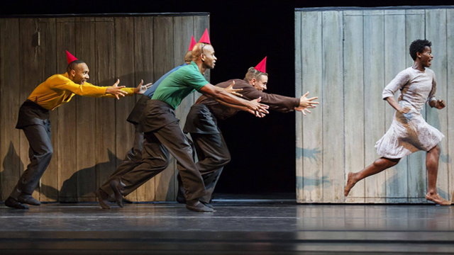 Alvin Ailey premiere Johan Inger's 'Walking Mad'
