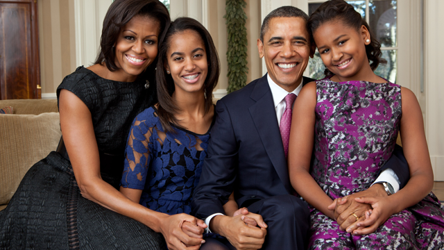 Photo Tribute to President Obama and Family
