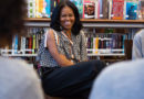 Michelle Obama surprised 12 'fierce and promising' girls on International Women's Day