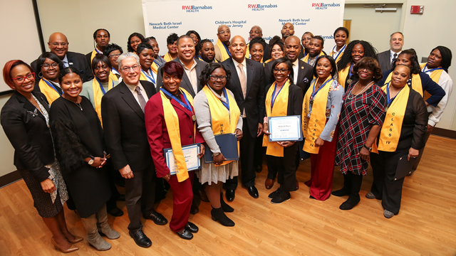 NEWARK BETH ISRAEL MEDICAL CENTER GRADUATES HIRE NEWARK: EMPLOYMENT READY BOOT CAMP CLASS IV