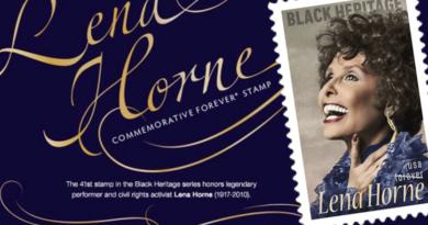 USPS releases Lena Horne stamp