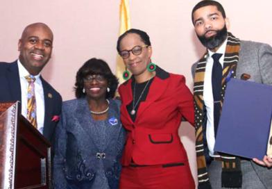 Newark Honors Mayor Chokwe Antar Lumumba of Jackson, Mississippi