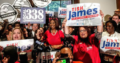 Letitia James Is Elected New York Attorney General