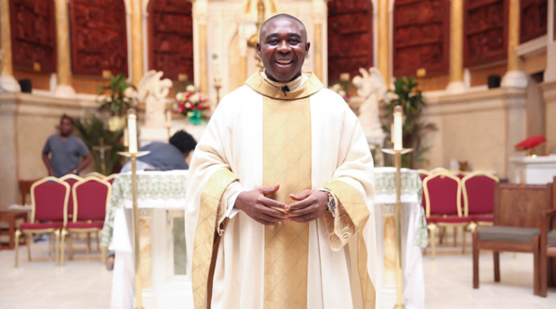 Father Peter Iwuala, Celebrates 10thAnniversary as a Priest