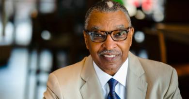 Rev. DeForest B. Soares, JR  speaks at the Newark Public Lecture Series