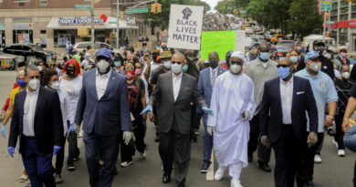 Harlem Freedom and Justice Silent March on June 7, 2020
