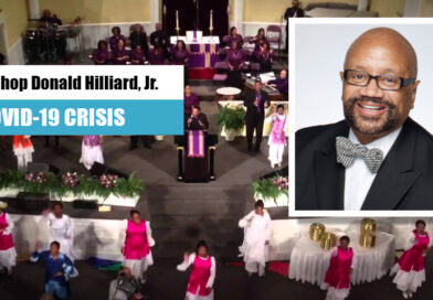 Bishop Donald Hilliard, Jr., pastor of Cathedral International, Perth Amboy, NJ. Video Message to The Positive Community Family