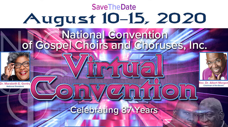 NCGCCinc Convention 2020 Online // August 10th – 15th