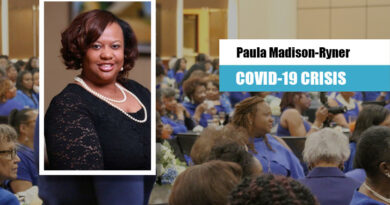 Paula Madison-Ryner, President, NCBW Bergen/Passaic Chapter Video Message to The Positive Community Family